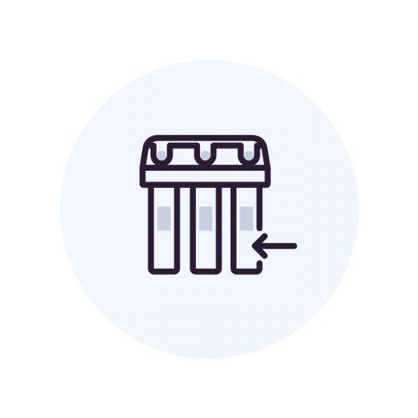 Монтаж колонны